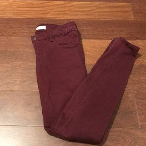 Abercrombie colored jeans